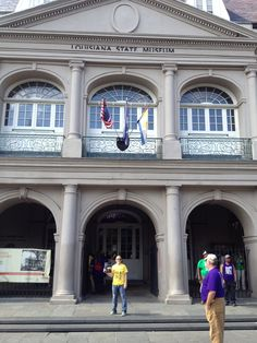 Where in the world is the forensics journal? - The Louisiana State Museum.