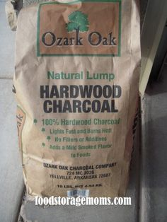 Do You Want To Know How To Store Charcoal For Survival?