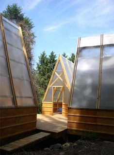 cabin, architects, tent, a frame, moskow linn