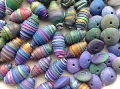 Polymer Beads by Silvana Bates