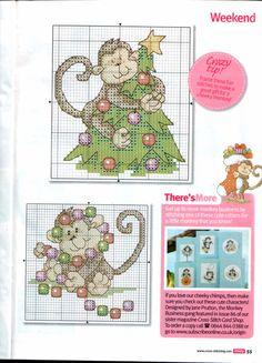 Gallery.ru / Фото #35 - Cross Stitch Crazy 169 ноябрь 2012 + приложение Christmas Co - tymannost