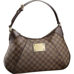 Louis Vuitton Outlet Damier Ebene Canvas Thames GM N48181 $229.14 It's okay, I like the simple bags, it's busy.