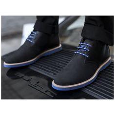 Men's Shoes - Sure looks a lot better than a pair of flip flops!