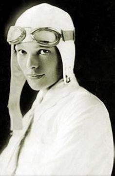 Amelia Earhart... an inspiration.