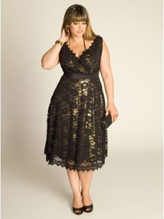 Plus Size Cocktail Dresses for Women - by IGIGI