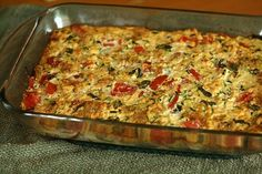 The best zucchini casserole ever. Will make it again soon! Click for recipe