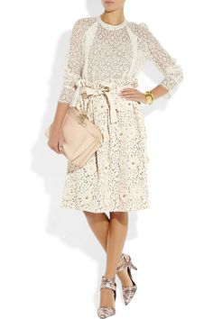 style, dress, chloé