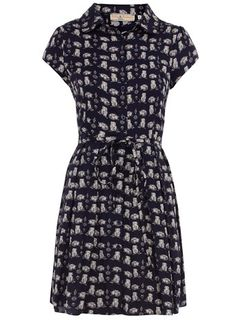 {Owl print dress} love the sweet little owls! I think I have to own this. :)