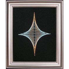 String Art Fun Free Diamond Pattern 2