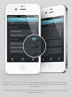 PPLrated - iOS Application by Zahir Ramos, via Behance