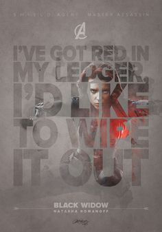 THE AVENGERS - Fan Made Quotable Character Posters — GeekTyrant