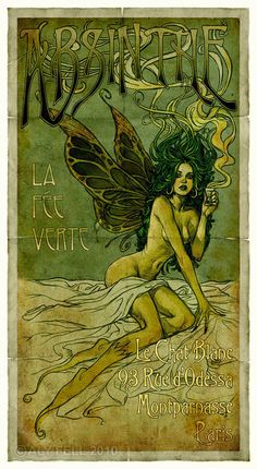 The Absinthe Fairy - >>STAGES<< All content copyright Aly Fell 2010.