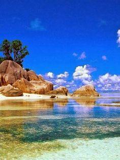 Beautiful Beaches Around The World -Beautiful Beach, Seychelles.