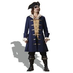 Capn Cutthroat Elite Collection Adult #Pirate #Costume