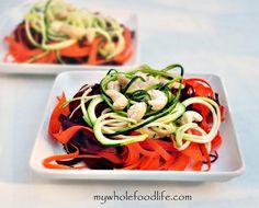 Detox Rainbow Salad