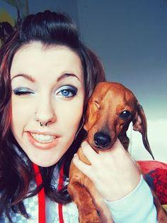 Septum @Katie Hrubec Maria Biggs how freakin cute is her double nose piercing!?
