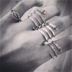 Snake Rings  Gold - Diamonds