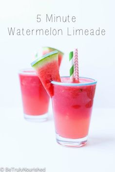 Watermelon Limeade |