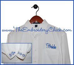 Bridal Button-Down Shirt