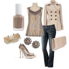Down Town ~ Created by shemshay.polyvore.com