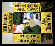 """The """"Rich"""" Life: Deployment Care Packages!!"""