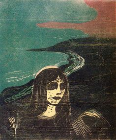 Edvard Munch, woodcut