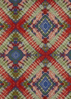 Pearson's woven ikat fabric 4615-76 from Turkey