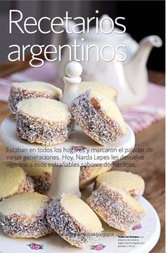 Alfajores de Maizena. Biscuit-type sandwich cookie with dulce de leche filling. Here is a recipe link: http://www.food.com/recipe/alfajores-de-maizena-298414
