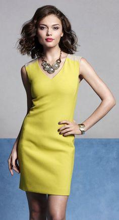 chartreuse #AnnHeartsFashion #Fashion