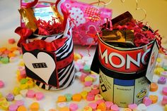 Super simple handmade Valentines Using Tin Cans (The Mother Huddle)