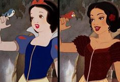 Disney Princesses Re-Imagined as Different Ethnicities