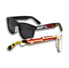 Maryland Flag Shades from Route One Apparel.
