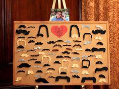 mustache photo booth @Jackie Godbold Beuten
