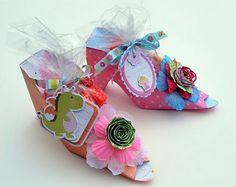 Princess shoe party favour