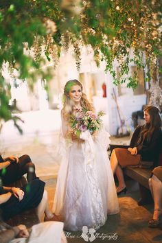 Beautiful boho rustic wedding by Three Nails Photography