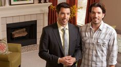 On.... Buying & Selling. Stay tuned for more pics from the Property Brothers' new series!