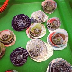 Rolled Flower tutorial