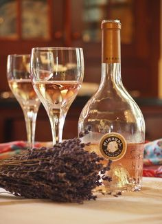 The Morning Show sampled a Chateau #Miraval Rosé with wine expert Chuck Kanski.
