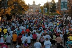 The Des Moines Marathon. A true runner's dream. Catch 26.2 miles of accomplishment. Catch your finish line feeling in Des Moines! #CatchDSM #RunDSM