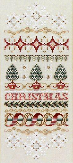 ~ Christmas Elegance Sampler ~ by Just Nan....
