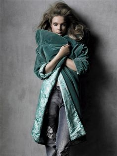 Model Natalia Vodianova, photographer Steven Meisel for Vogue, Italia, May 2005