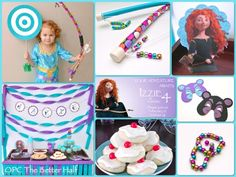 Brave Birthday - OPC The Better Half: I love the bow and arrow  and layout.