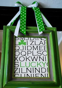 Tutorial: St. Patrick's Day Art....