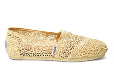 Lemon Crochet Women's Classics - FREE Shipping | TOMS.com #toms  When you buy a pair of TOMS Shoes, you're also helping improve the health, education and well-being of a child.