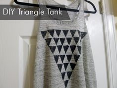 Thanks, I Made It: DIY Triangle Tank