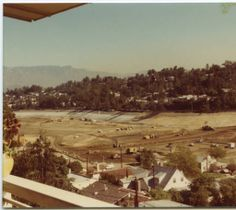 Photograph of construction site at Silver Lake Dam, January 20, 1976. Homer Halverson Collection. Water Works - Documenting Water History in Los Angeles.