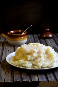 Perfect Mashed Potatoes and Gravy