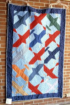 Airplanes   Quiltmaker: Sopcak, Marcia, 1986.    Michigan State University Museum: Michigan Quilt Project
