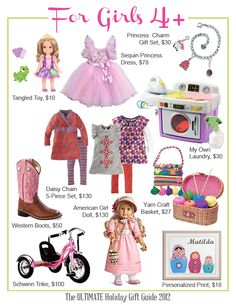 gifts for girls. #girls #gifts #holiday #toys