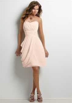 bridesmaid dress...some in yellow, some navy blue